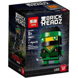 Lepin 06071 Lele 31083-3 (NOT Lego BrickHeadz 41487 Lloyd ) Xếp hình Lloyd Chiến Đấu Đầu To 114 khối