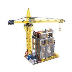 LEPIN 15031 Xếp hình kiểu Lego CREATOR Modular Construction Site Công Trường Xây Dựng 4425 khối