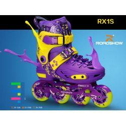 Roadshow RX1S Bộ giầy patin ABEC-7 có phanh đồ bảo hộ túi đựng cốc tập xách giầy
