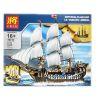 Lepin 22001 King 83038 Lele 39010 Sheng Yuan 1201 SY1201 Kaku KK19003 19003 (NOT Lego Creator Expert 10210 Imperial Flagship ) Xếp hình Tàu Chiến Hoàng Gia 1717 khối
