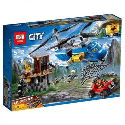 Lepin 02089 Bela 10863 Lele 28012 (NOT Lego City 60173 Mountain Arrest ) Xếp hình Núi Bắt Giữ 339 khối