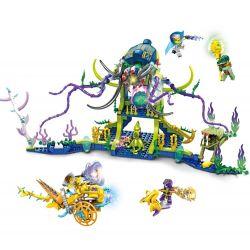 FC BRAND FC3211 3211 Xếp hình kiểu Lego MOVIES Battle Of Wizard And Angry Octopus Cuộc Chiến Của Những Thầy Phù Thủy Và Bạch Tuộc Nổi ĐIên 629 khối