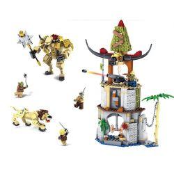 Kazi KY87021 (NOT Lego The Chronicles of Narnia More Narnia Sets ) Xếp hình Tập Hợp Huyền Thoại Narnia 927 khối