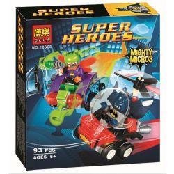 Bela 10668 Lari 10668 Xếp hình kiểu Lego DC COMICS SUPER HEROES Mighty Micros Batman Vs. Killer Moth Mini Battle Batman Against War Moth Người Dơi Và Cuộc Chiến Với Tên Tội Phạm Mang Mặt Nạ Bướm 83 kh