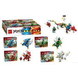 BOZHI 177 Xếp hình kiểu Lego THE LEGO NINJAGO MOVIE Collection Of Legend Dragons And Ninja 4 In 1 Tập hợp Những Con Rồng Huyền Thoại Và Các Ninja 4 trong 1