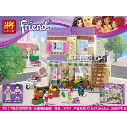 NOT Lego FRIENDS 41108 Heartlake Food Market, Bela 10495 Lari 10495 LELE 37014 Xếp hình Chợ thực phẩm 388 khối