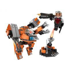 GUDI 8224 Xếp hình kiểu Lego Earth Border Fearless Machine Cần Dịch 183 khối