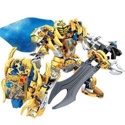 LEPIN 40009 SEMBO 11804 Xếp hình kiểu Lego KING OF GLORY HEGEMONY King Hero Lion Heart King Arthur Vua Arthur 370 khối