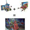 Loz 3013 A0013 (NOT Lego Buildingblocks Jungle Robots Robotic Warrior ) Xếp hình Rô Bốt Chiến Binh gồm 2 hộp nhỏ 120 khối