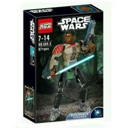 XSZ KSZ 605-3 Decool 9020 (NOT Lego Star wars 75116 Finn ) Xếp hình Chiến Binh Finn 98 khối