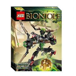 XSZ KSZ 611-3 Xếp hình kiểu Lego BIONICLE Umarak The Hunter Biochemical Warrior Shadow Hunter Witchcar Thợ Săn Umarak Bắn Cung Săn độc 172 khối