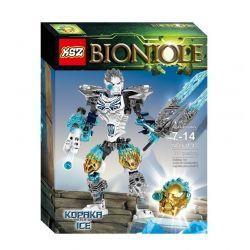 XSZ KSZ 611-4 (NOT Lego Bionicle 71311 Kopaka And Melum - Unity Set ) Xếp hình Kopaka And Melum Bất Khả Chiến Bại 171 khối