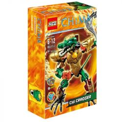 XSZ KSZ 815-2 Xếp hình kiểu Lego LEGENDS OF CHIMA CHI Cragger Qigong Legend Qigong Crocodator Chiến Binh Lửa Cragger 58 khối