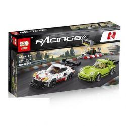 Lepin 28018 Sheng Yuan 6775 Bela 10946 (NOT Lego Speed Champions 75888 Porsche 911 Rsr And 911 Turbo 3.0 ) Xếp hình Bộ Đôi Siêu Xe Porsche 438 khối