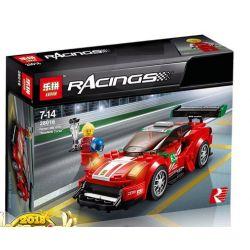Bela 10943 Lari 10943 LEPIN 28016 SHENG YUAN SY 607014 6777 WANGAO 7009 Xếp hình kiểu Lego SPEED CHAMPIONS Ferrari 488 GT3 SCUDERIA CORSA Siêu Xe Ferrari 179 khối