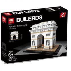 LEPIN 17012 Xếp hình kiểu Lego ARCHITECTURE Landmark Architecture Arc De Triomphe Khải Hoàn Môn 386 khối