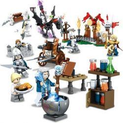 SEMBO SD3051 3051 Xếp hình kiểu Lego CHRONICLES OF THE GHOSTLY TRIBE Ghost Tribal Series Tuyển Tập Bộ Lạc Ma Quái 283 khối