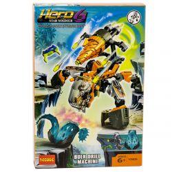 Decool 10505 Jisi 10505 Xếp hình kiểu Lego HERO FACTORY BULK Drill Machine Hero Factory Juja Drill Máy Khoan Khổng Lồ 113 khối