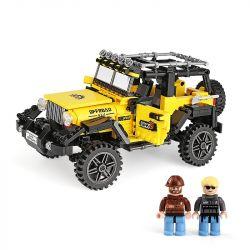Xingbao XB-03024 (NOT Lego Offroad Adventure Super Off-Road Jeep ) Xếp hình Siêu Xe Địa Hình Jeep 610 khối
