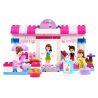 Jdlt Judalongtoys 5231A (NOT Lego Duplo Interesting Girls' Bakery ) Xếp hình Cửa Hàng Bánh Thú Vị Của Các Cô Gái 100 khối