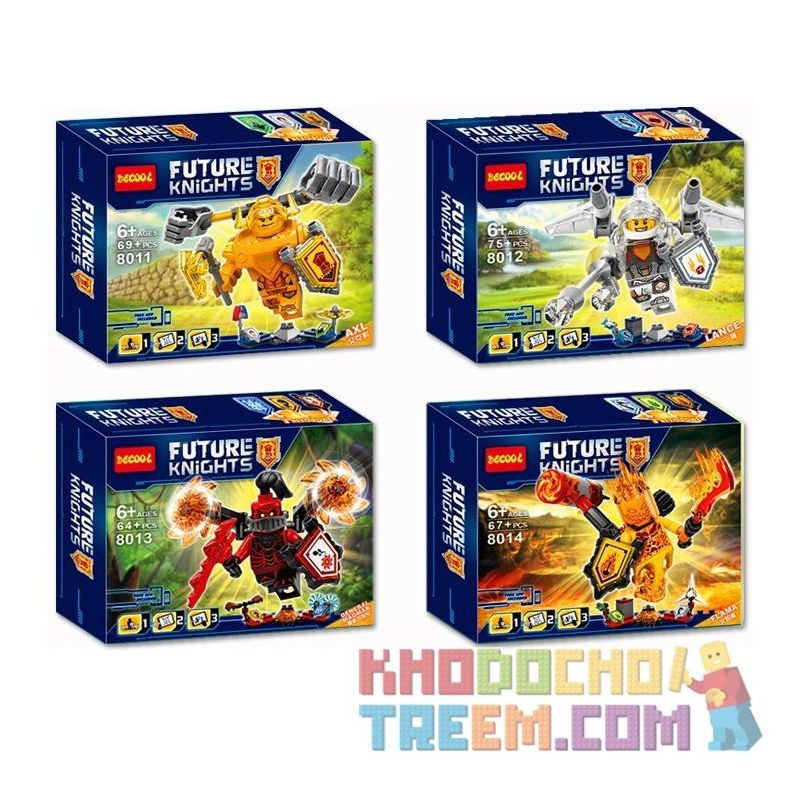 NOT Lego NEXO KNIGHTS 70336 70337 70338 70339 Ultimate Axl Ultimate Flama Ultimate General Magmar Ultimate Lance Super White Knight Lance Super Knight Flame Demon Super Knight Demon Admiral Super Yell