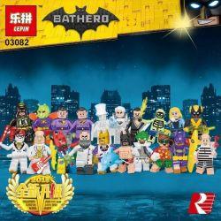 LEPIN 03082 Xếp hình kiểu Lego COLLECTABLE MINIFIGURES Friends Are Family Harley Quinn Harley Halle Quini Các Nhân Vật Phim Người Dơi gồm 2 hộp nhỏ 7 khối