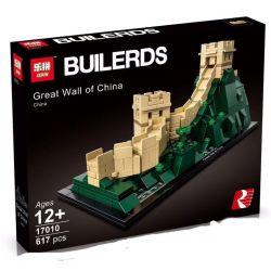 Lepin 17010 (NOT Lego Architecture 21041 Great Wall Of China ) Xếp hình Vạn Lý Trường Thành Trung Quốc 617 khối