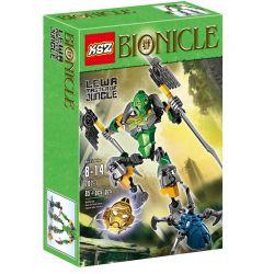 XSZ KSZ 707-1 Decool 10701 (NOT Lego Bionicle 70784 Lewa - Master Of Jungle ) Xếp hình Chúa Rừng Lewa 85 khối
