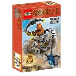 XSZ KSZ 707-2 Decool 10702 (NOT Lego Bionicle 70785 Pohatu - Master Of Stone ) Xếp hình Chúa Đá Pohatu 85 khối