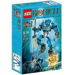 XSZ KSZ 707-3 Decool 10603 (NOT Lego Bionicle 70780 Protector Of Water ) Xếp hình Kivoda Hộ Vệ Nước 87 khối