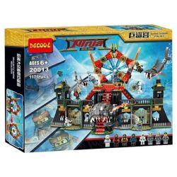 Decool 20013 Jisi 20013 Xếp hình kiểu Lego ATLANTIS Portal Of Atlantis Atlantis Top To Atlantis Cổng Lục địa Mất Tích 1007 khối