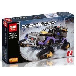 NOT Lego TECHNIC 42069 Extreme Adventure Extreme Risk , Decool 3372 Jisi 3372 LELE 38044 LEPIN 20057 Xếp hình Xe ô Tô Thám Hiểm Bánh Xích 2382 khối
