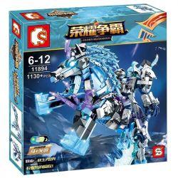 Sembo 11894 (NOT Lego King of Glory Hegemony Ma Guanyu ) Xếp hình Quan Vũ 1130 khối