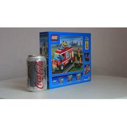 GUDI 9209 Xếp hình kiểu Lego CITY Fire Truck Xe Cứu Hỏa Chữa Cháy Bụi Hoa 156 khối