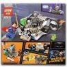 Lepin 07017 (NOT Lego DC Comics Super Heroes 76044 Clash Of The Heroes ) Xếp hình Đại Chiến Người Dơi Và Siêu Nhân 106 khối