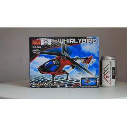 NOT Lego TECHNIC 8046 Helicopter, Decool 3336 3337 Jisi 3336 3337 Xếp hình Máy Bay Trực Thăng (Mẫu 1) 152 khối