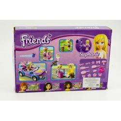 NOT Lego FRIENDS 3183 Stephanie's Cool Convertible, Bela 10167 Lari 10167 Xếp hình xe hơi điệu đà của Stephanie 130 khối