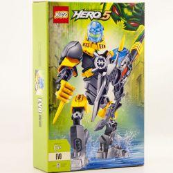 XSZ KSZ 913 Xếp hình kiểu Lego HERO FACTORY EVO Hero Factory Wings Cố Máy Chiến đấu Evo 51 khối