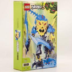 NOT Lego HERO FACTORY 44013 AQUAGON Hero Factory Water Strange , XSZ KSZ 914 Xếp hình Sinh Vật Aquagon 41 khối