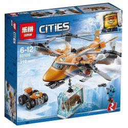 Lepin 02109 Lele 28023 Bela 10994 (NOT Lego City 60193 Arctic Air Transport ) Xếp hình Máy Bay Vận Tải Vùng Bắc Cực 310 khối