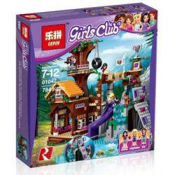NOT Lego FRIENDS 41122 Adventure Camp Tree House , Bela 10497 Lari 10497 LEDUO 76007 LEPIN 01004 01047 SHENG YUAN SY 832 SY832 SX 3019 Xếp hình Phiêu Lưu Cắm Trại Trên Ngôi Nhà Trên Cây 726 khối