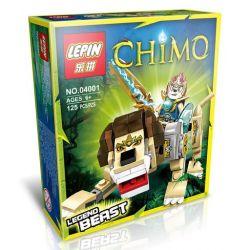 Bela 10068 Lari 10068 LEPIN 04001 Xếp hình kiểu Lego LEGENDS OF CHIMA Lion Legend Beast Qigong Legend Golden Lion Beast Con Thú Truyền Thuyết Sư Tử 120 khối