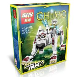 Bela 10072 Lari 10072 Kazi KY98053-5 98053-5 LEPIN 04005 Xếp hình kiểu Lego LEGENDS OF CHIMA Wolf Legend Beast Qigong Legend Wolf Beast Sói Huyền Thoại 110 khối
