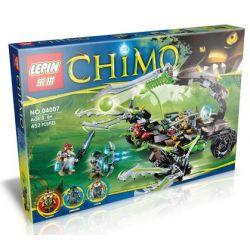 Bela 10077 Lepin 04007 (NOT Lego Legends of Chima 70132 Scorm's Scorpion Stinger ) Xếp hình Bọ Cạp Máy Khổng Lồ Của Scorm 434 khối