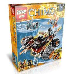 Bela 10352 Lari 10352 Kazi KY98075 98075 LEPIN 04015 Xếp hình kiểu Lego LEGENDS OF CHIMA Tormak's Shadow Blazer Legend Of Qigong Double-sided Black Fire Chariot In Tiger Staff Tarzak Shadow Blazer 311