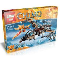 Bela 10353 Lepin 04017 Bozhi 98074 (NOT Lego Legends of Chima 70228 Vultrix's Sky Scavenger ) Xếp hình Kền Kền Máy Của Vultrix 480 khối