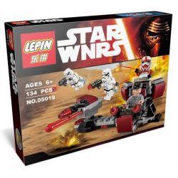 Lepin 05019 Bela 10573 (NOT Lego Star wars 75134 Galactic Empire Battle Pack ) Xếp hình Đội Quân Đế Chế Thiên Hà 134 khối
