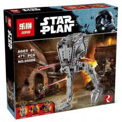 LELE 35011 LEPIN 05066 Xếp hình kiểu Lego STAR WARS AT-ST Walker Grand Theft Auto All Top Site Reconnaissance Transport Walking Machine Tàu đi Bộ AT-ST 449 khối