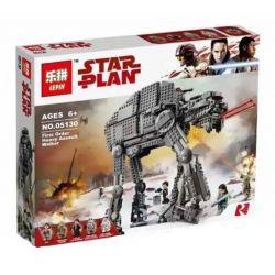 Bela 10908 Lari 10908 LEPIN 05130 Xếp hình kiểu Lego STAR WARS First Order Heavy Assault Walker Heavy Assault Pedestrian Machine Cỗ Máy Thiết Giáp Khổng Lồ 1376 khối