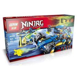 Lepin 06013 Bela 10396 Sheng Yuan 390 SY390 Lele 79117 (NOT Lego Ninjago Movie 70731 Jay Walker One ) Xếp hình Ô Tô Chiến Đấu 409 khối